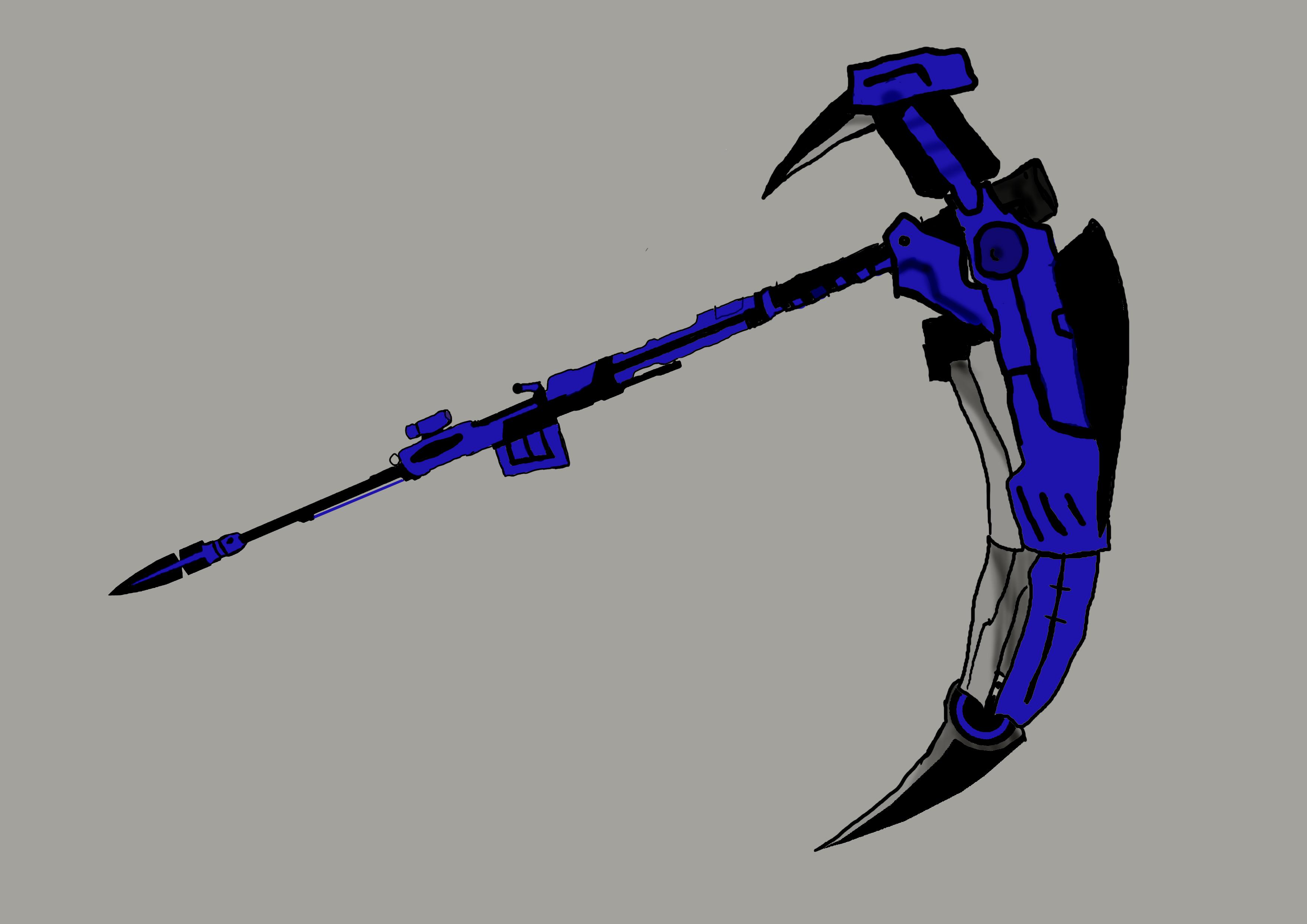 Drawn scythe Drawn jfj2121 DeviantArt by by
