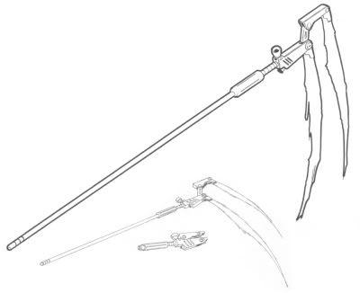 Drawn scythe Scythe about images Death Scythe