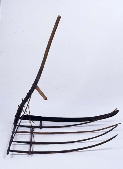 Drawn scythe agricultural > Early of  Horse