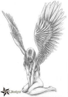 Drawn scythe angel W/ Google of drawing scythe