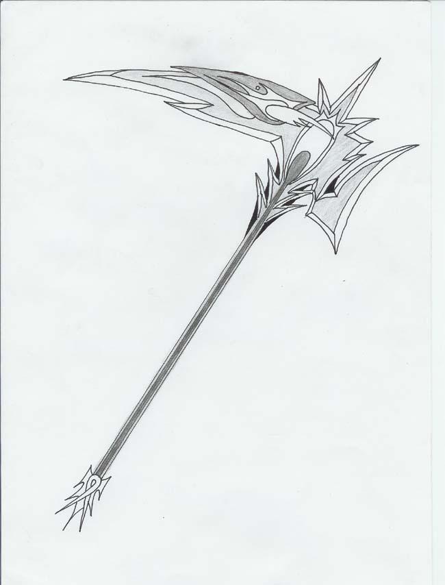 Drawn scythe angel DeathWish6 Scythe Scythe on design