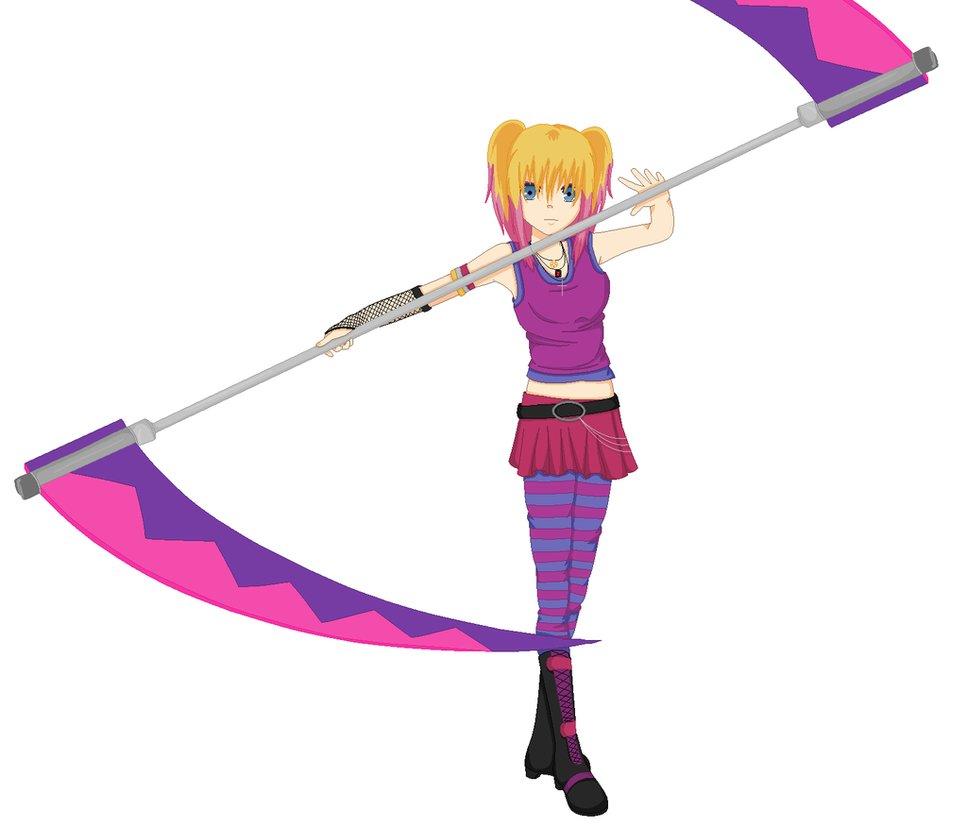 Drawn scythe anime double Scythe Scythe Meister on SakuraIsDeidarasGirl