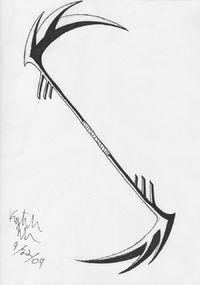 Drawn scythe badass View  FORUM Image Hero