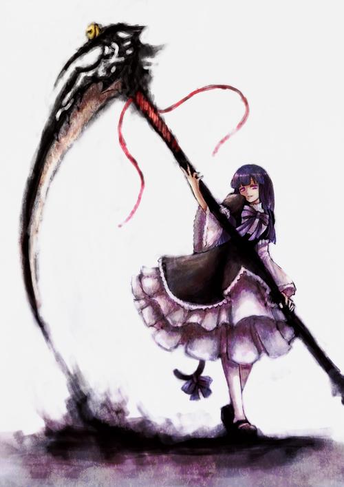 Drawn scythe badass On Scythe's and Find Girl