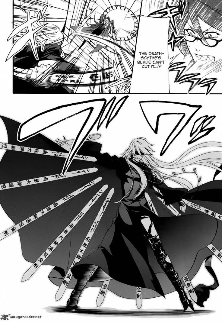 Drawn scythe black butler  Butler~ Black best on
