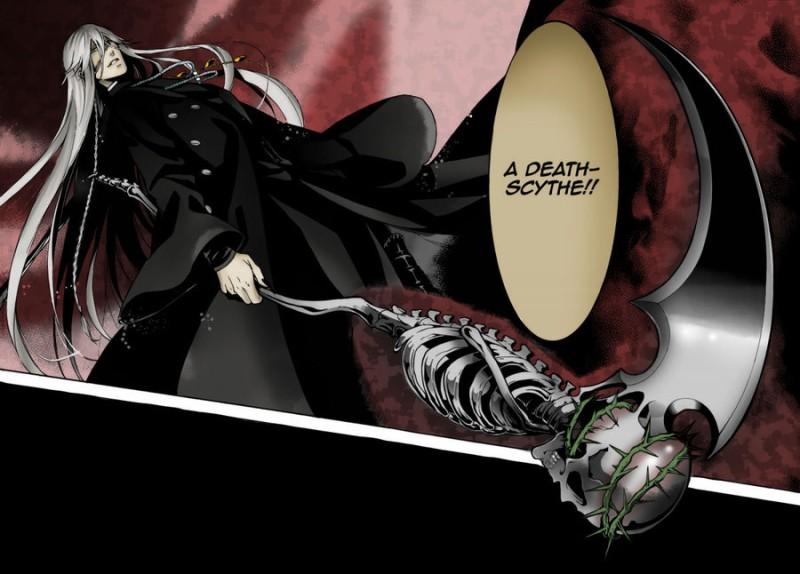 Drawn scythe black butler View topic  Team •