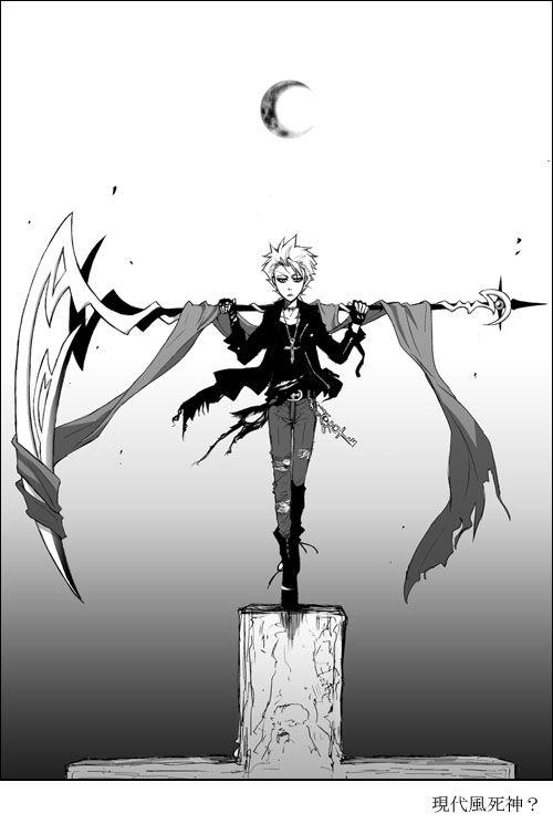 Drawn scythe bleach (c) on Bleach Pinterest images