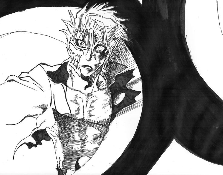 Drawn scythe bleach Pinterest #Grimmjow HITSUGAYA #Espada images