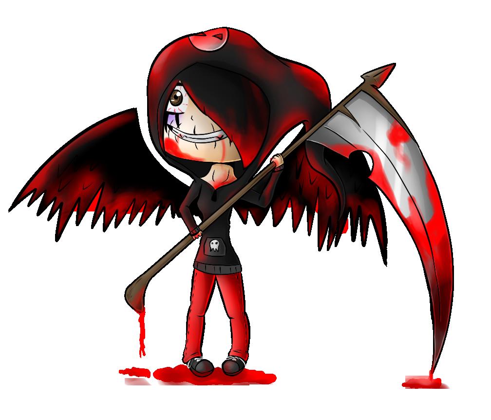 Drawn scythe blood Serah Commish:  Scythe Guard