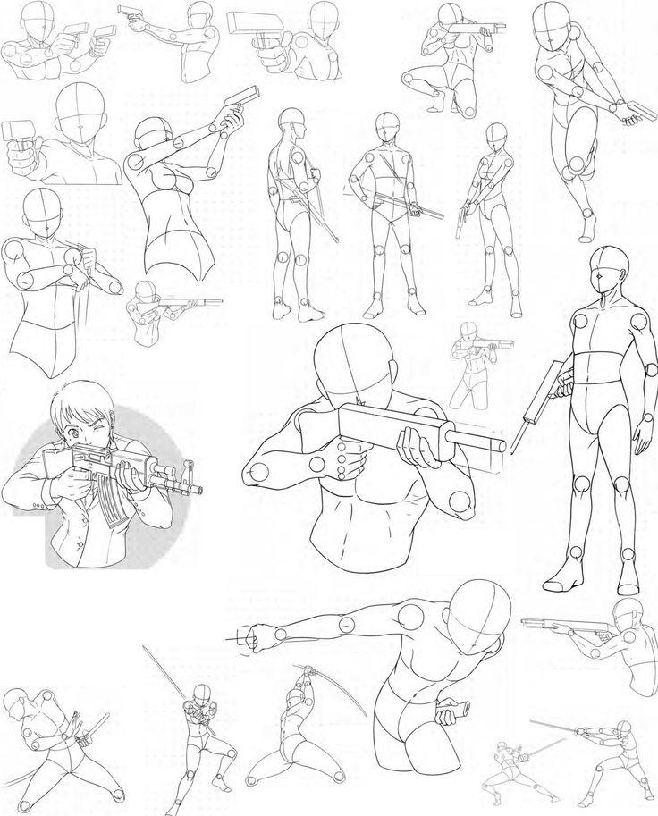 Drawn scythe combat Sketch Bodies FVSJ 25+ 8