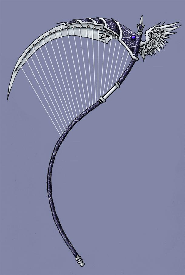 Drawn scythe dante's Stringed EmperorJustin on Fantasy Stringed