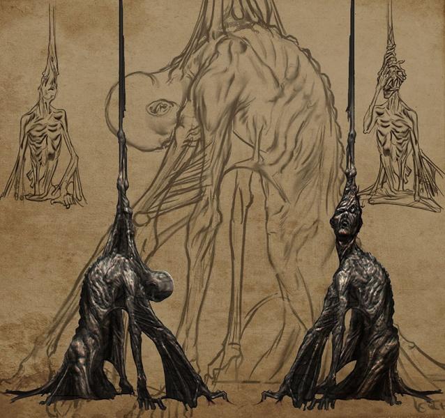 Drawn scythe dante's Dante's Neoseeker  Concept Inferno