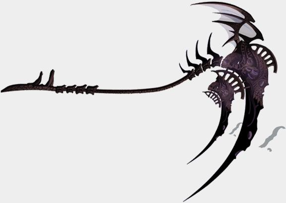 Drawn scythe darkness Nefarious 13th 13th  Scythe