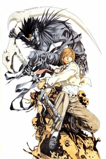 Drawn scythe death note Death images Pinterest Note Death