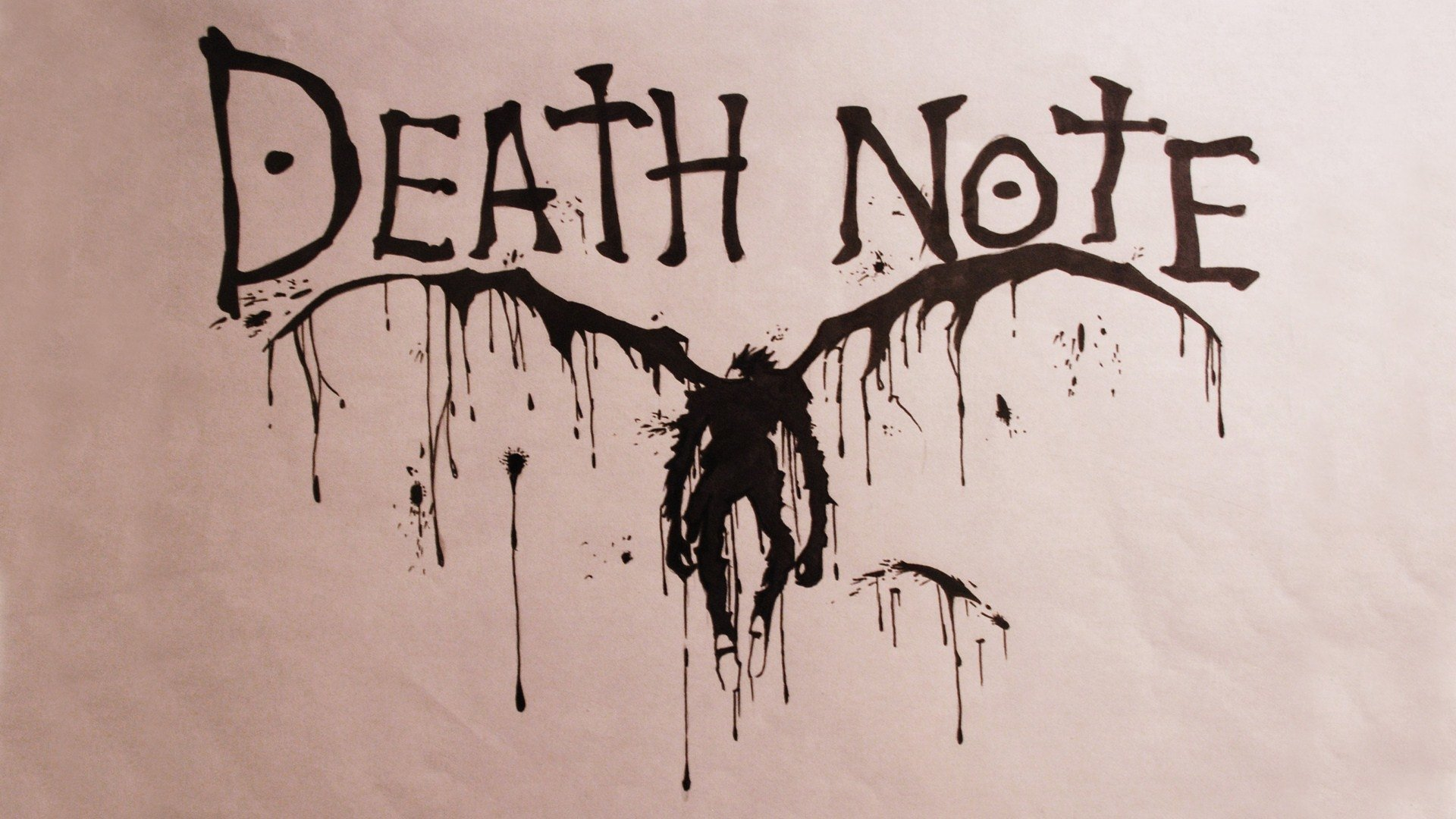Drawn scythe death note Background 338 Abyss Note Wallpaper