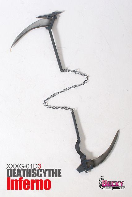 Drawn scythe double chain Best / on on )