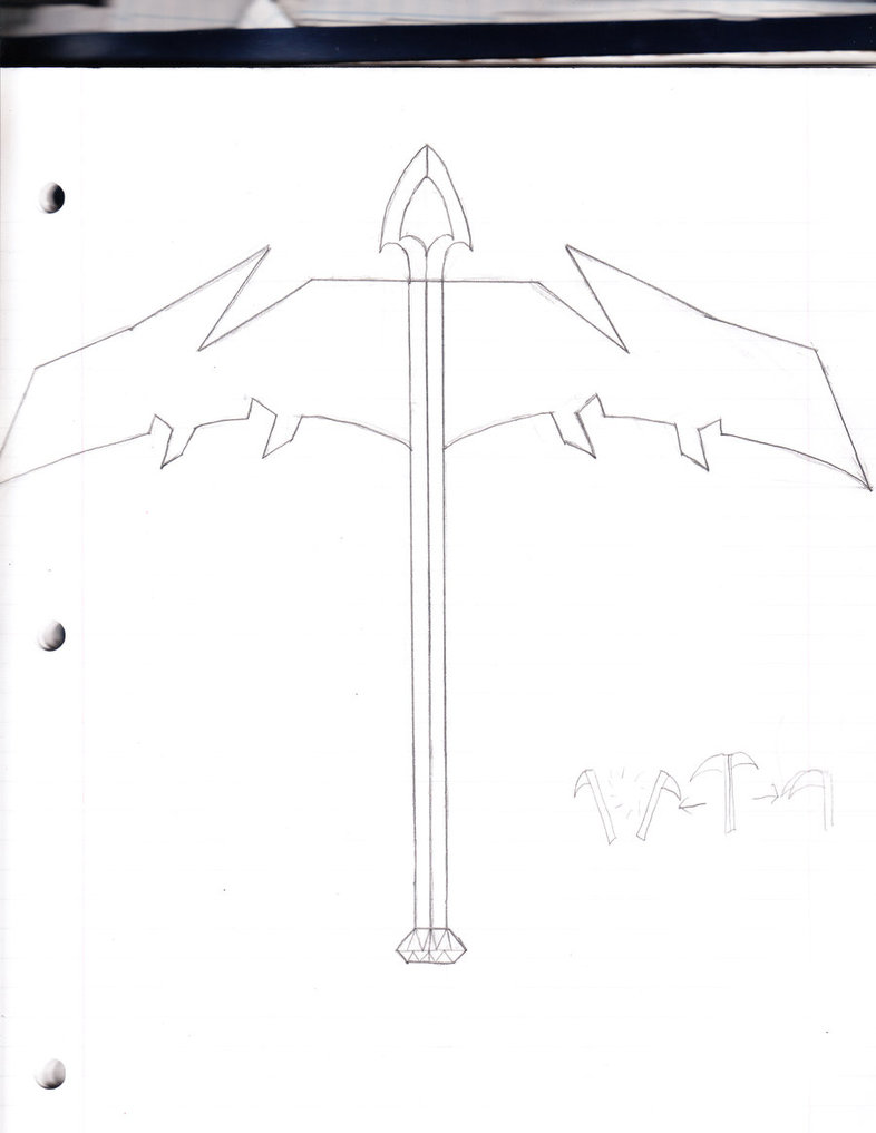 Drawn scythe double sided By Double Double UltimaLOL DeviantArt