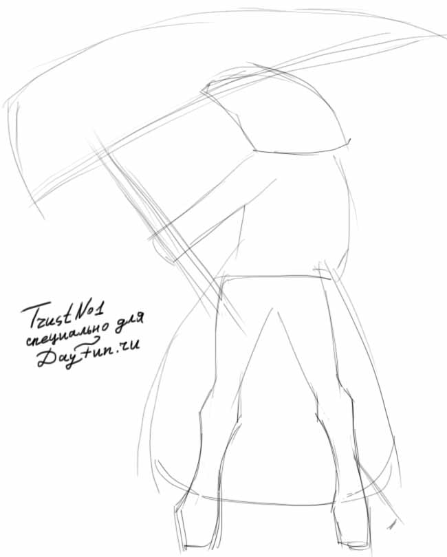 Drawn scythe drawing Step step How by a