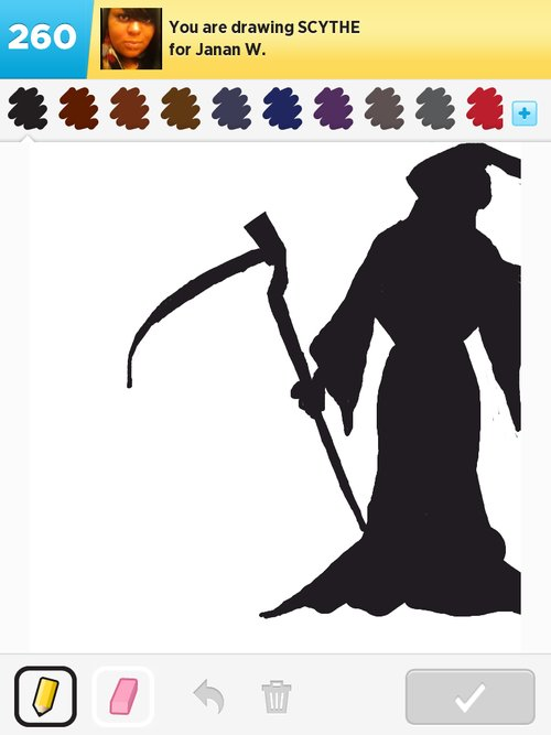 Drawn scythe drawing Best Scythe Sign The rate!