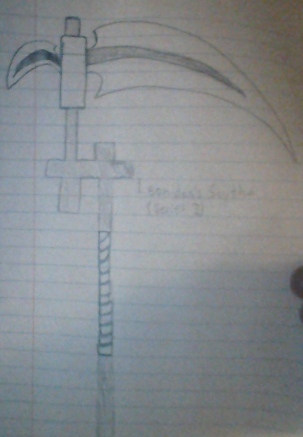 Drawn scythe elemental Scythe  2) Elemental BlackStarRules1