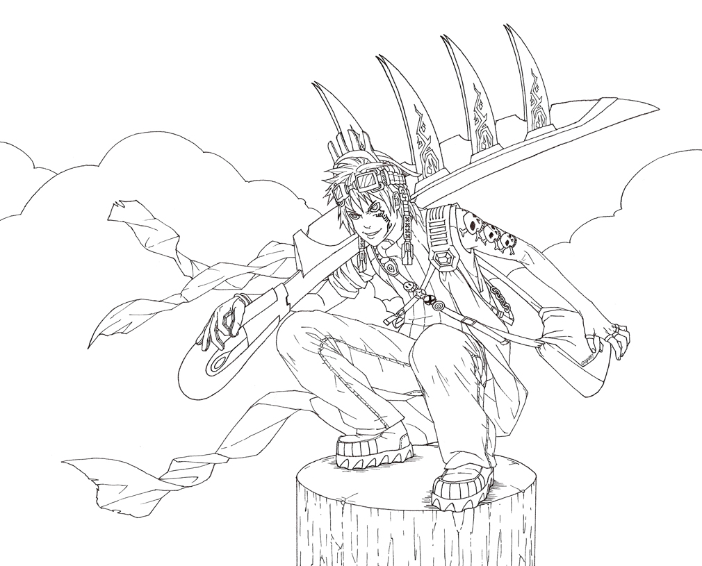 Drawn scythe epic Blade Scythe DeviantArt by osy057