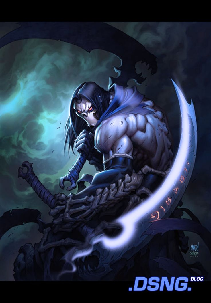 Drawn scythe giant Darksiders+II+2+Death+fan+Art+wrath+of+ 10 Weilders auf zu