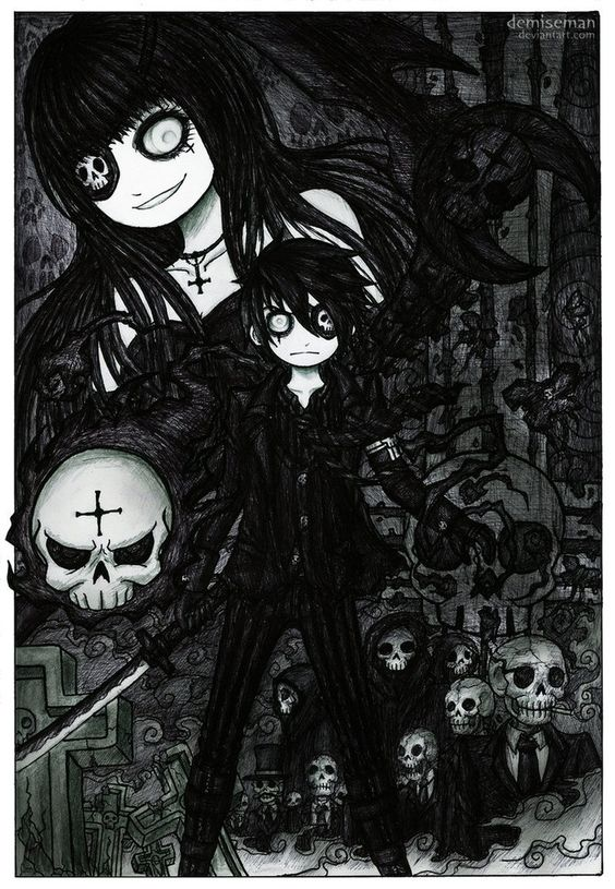 Drawn scythe gothic • and Gothic more! Explore