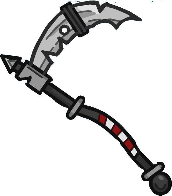 Drawn scythe gun Heroes by Helmet Fandom powered