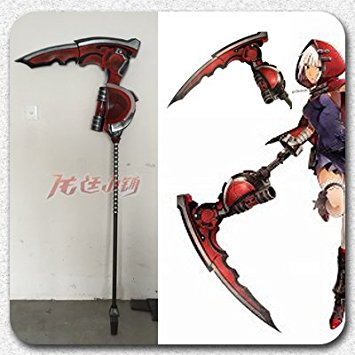Drawn scythe headed Prop sword sword scythe God