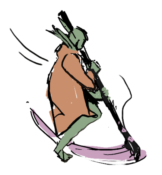 Drawn scythe headed Scythes scythe crudely SketchDaily 17th