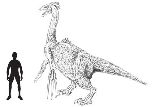 Drawn scythe huge Lizard