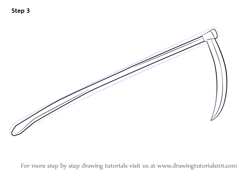 Drawn scythe ice Tutorials Scythe Drawing touch it