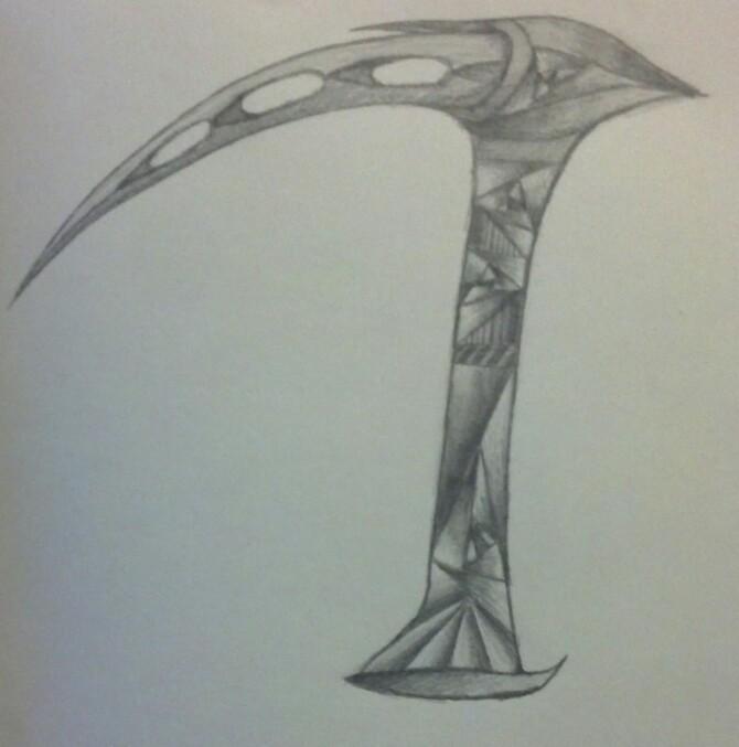 Drawn scythe ice DeviantArt SadieMoreau1701 Pick by Ice
