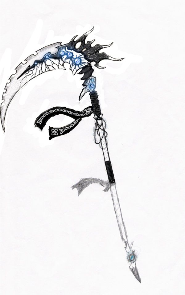 Drawn scythe ice Ideas images Pinterest more this