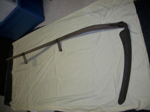 Drawn scythe large EBay! garden tool mule horse