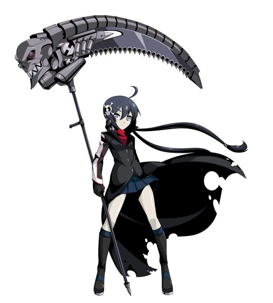 Drawn scythe mechanical (Roleplay U Anime (Roleplay Amino