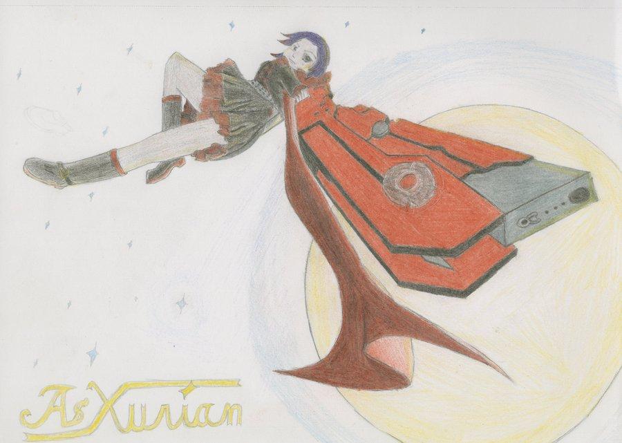 Drawn scythe moon Moon RWBY: AsXurian DeviantArt by