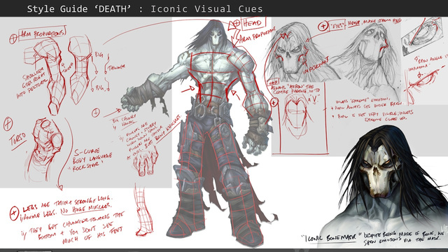 Drawn scythe one handed Darksiders The Of Heavy II