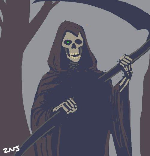 Drawn scythe purple Scythe Best Draw  How