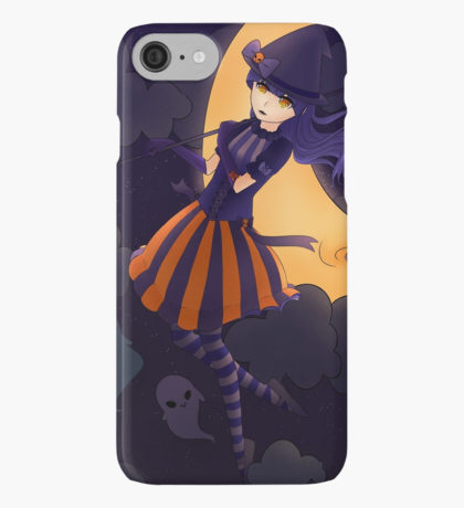 Drawn scythe purple  iPhone 7/7 6S/6S &