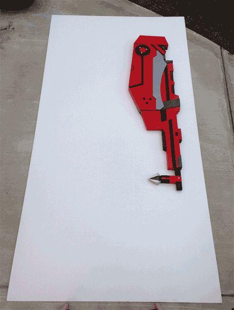 Drawn scythe red Ruby Scythe/Blaster 25+ Pinterest rose