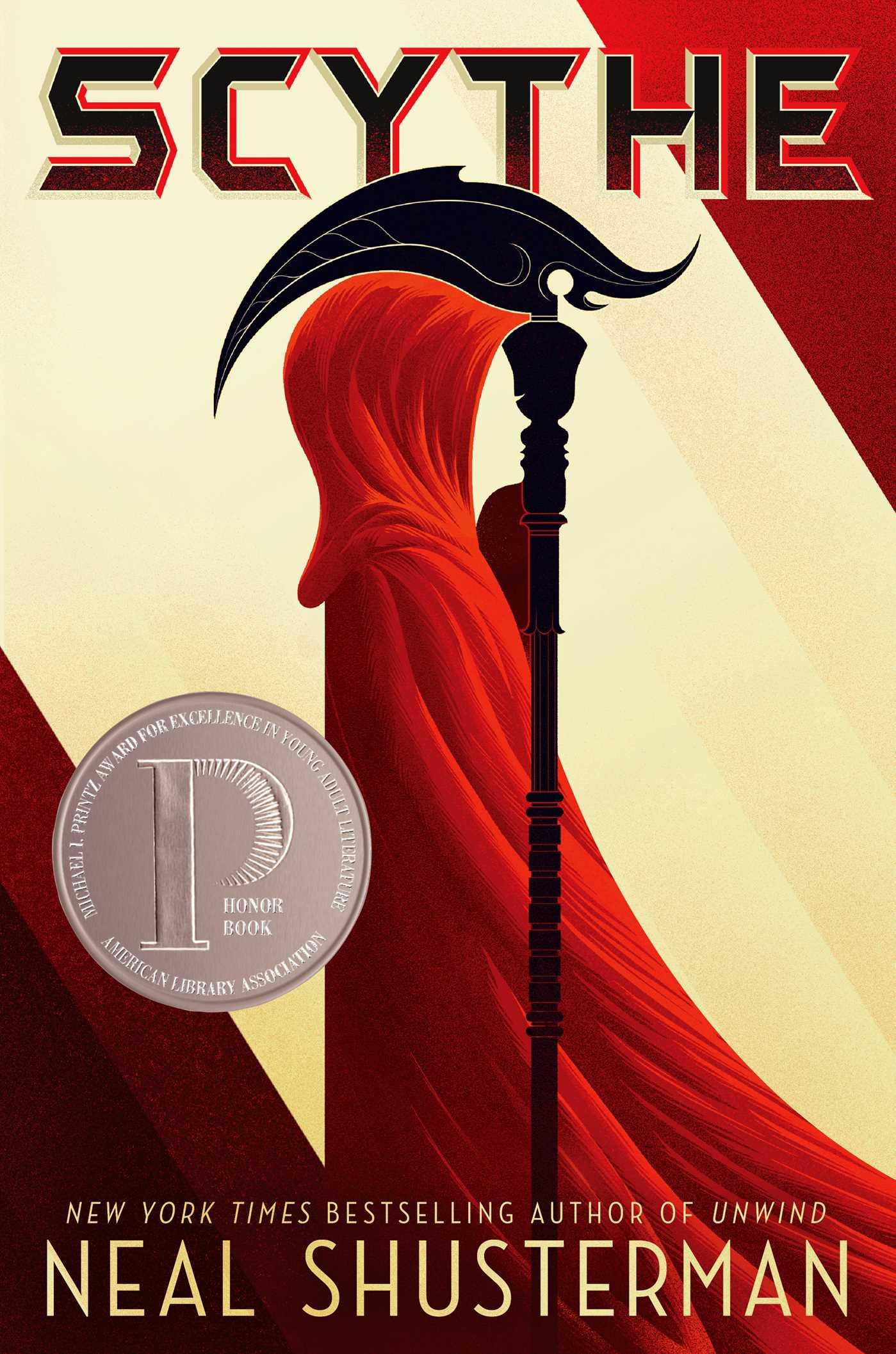 Drawn scythe red Simon Scythe by Page