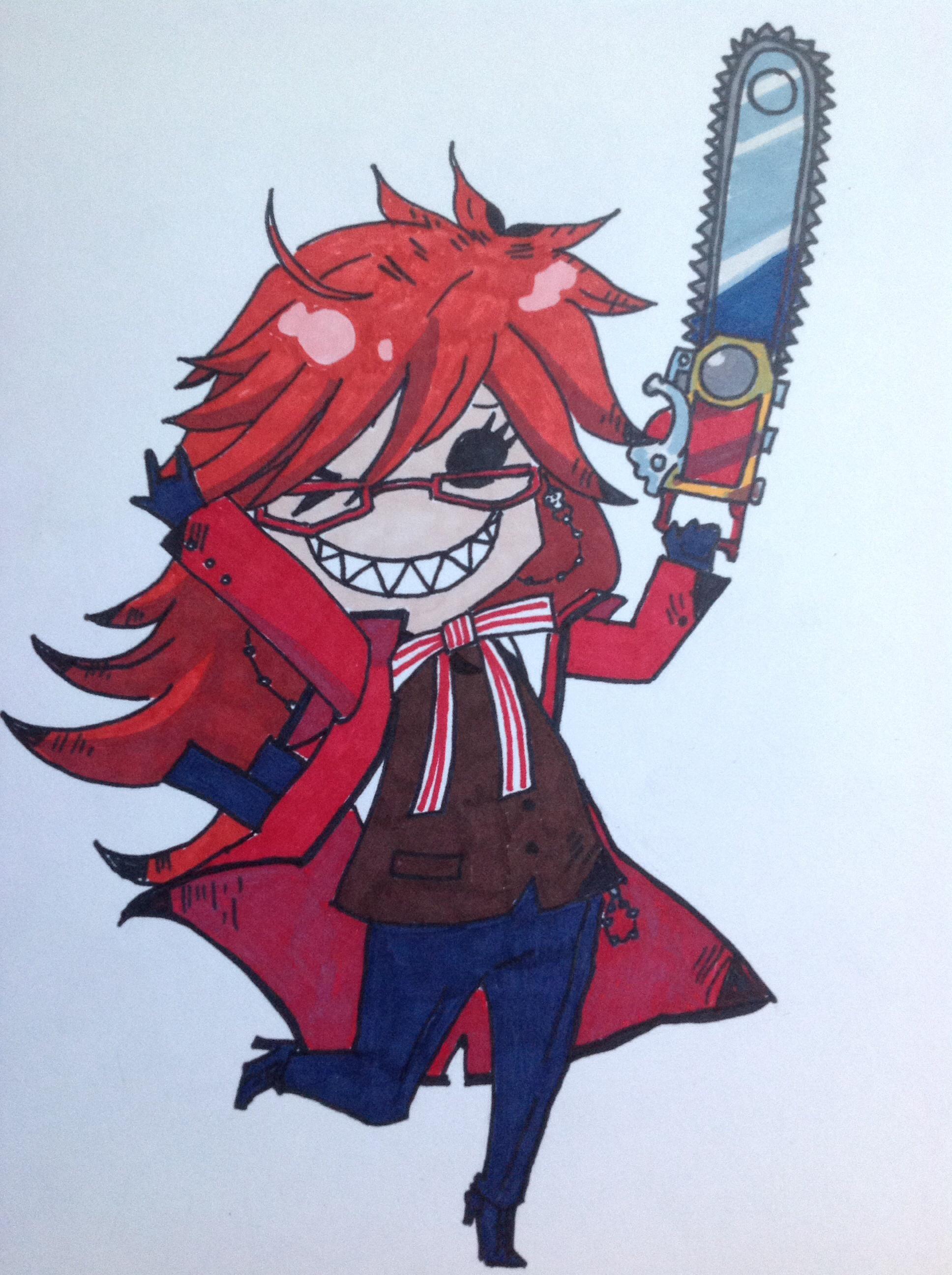 Drawn scythe red Scythe Sutcliff Butler red death