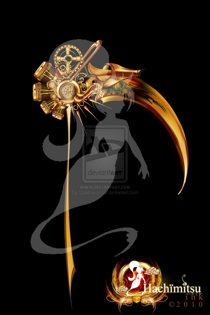Drawn scythe sci fi Scythe oasis Steampunk best Pinterest
