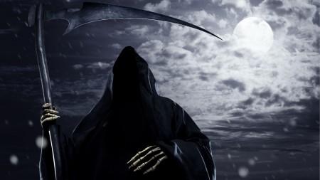 Drawn scythe shadow  dark Download 1920x1080 shadow
