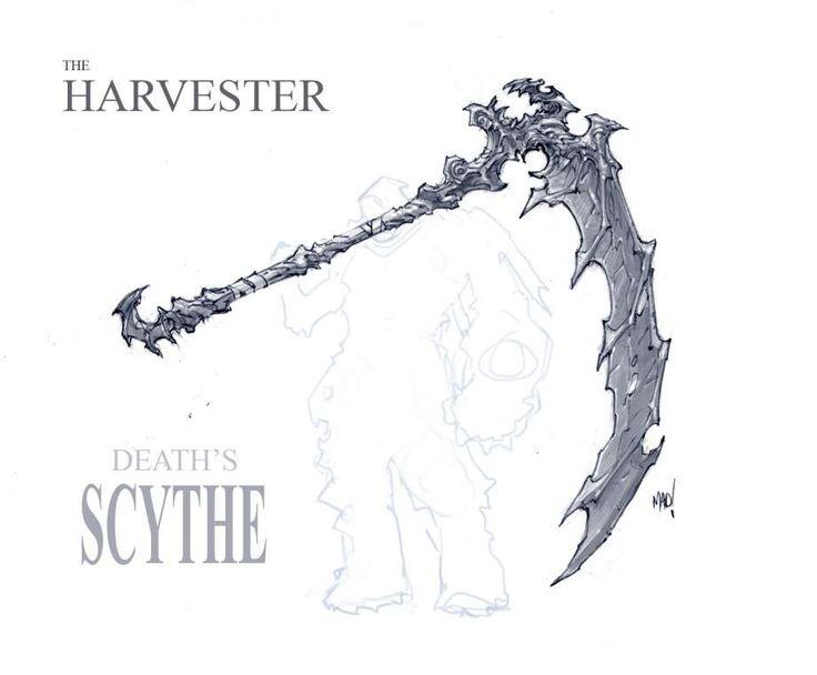 Drawn scythe sickle Sickle Scythe best ( images