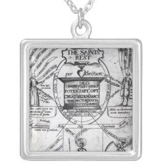 Drawn scythe silver Saints Scythe Rest' Silver Frontispiece