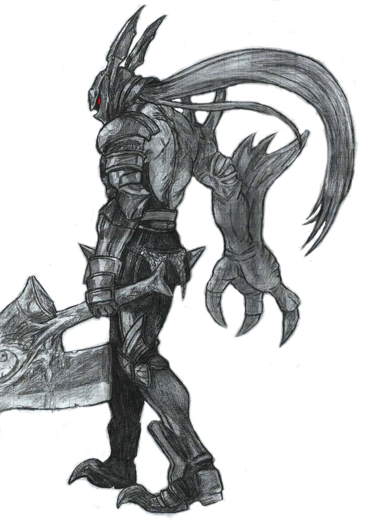 Drawn scythe soul calibur Nerd! Pinterest god a Thank