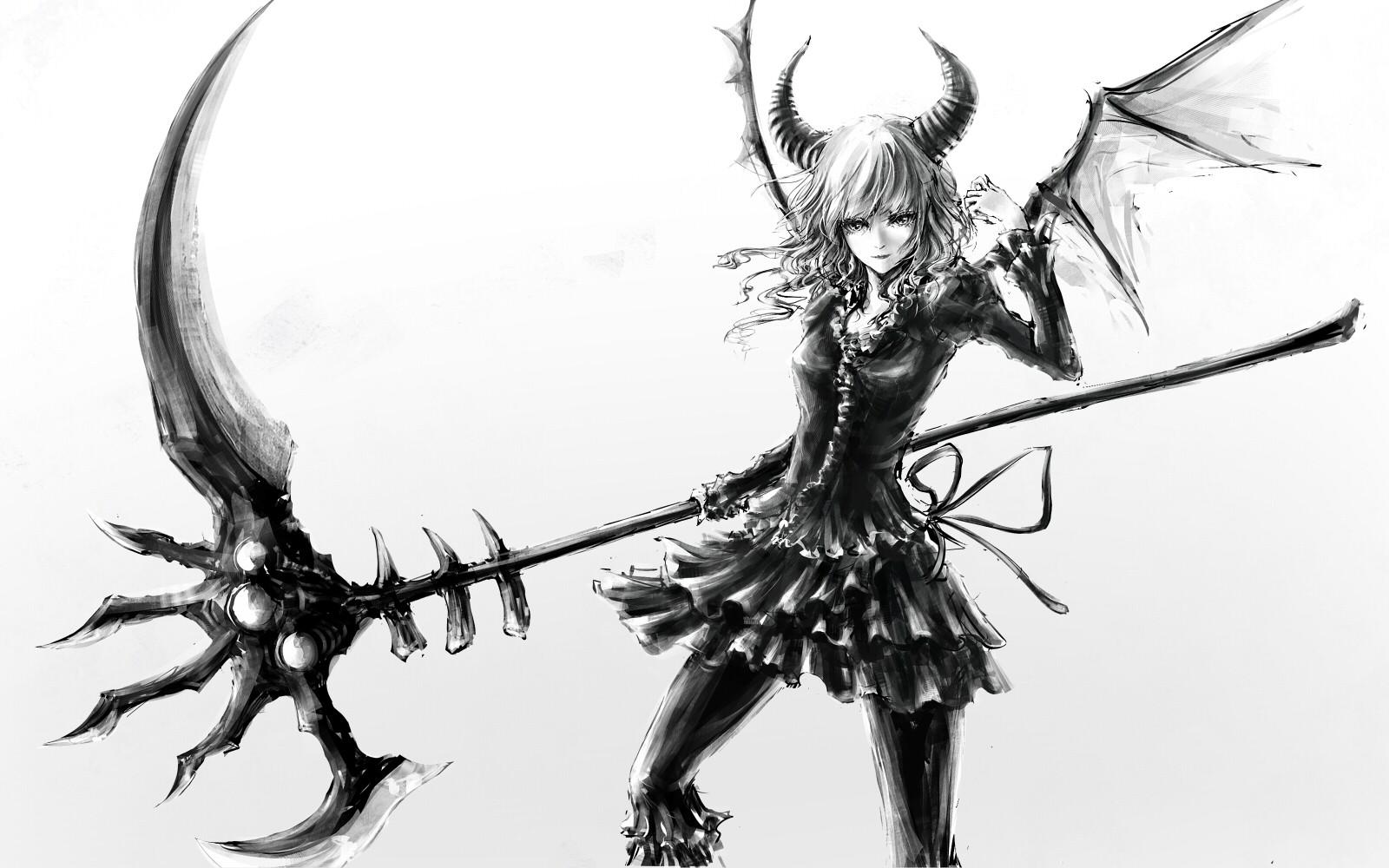 Drawn scythe spine Legends of already? has we