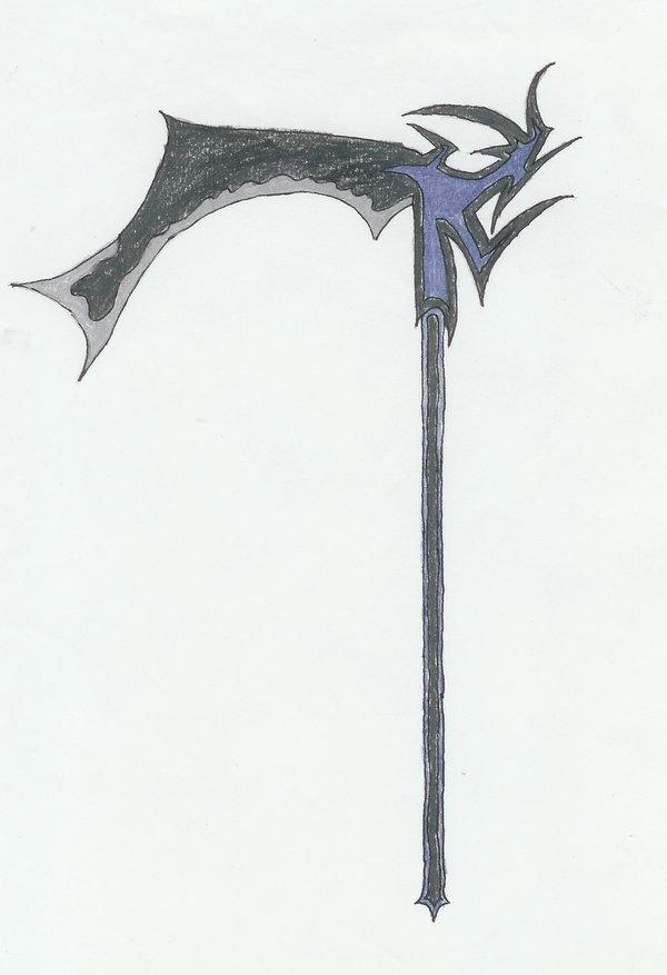Drawn scythe spine DeviantArt on by AgniandRudra by